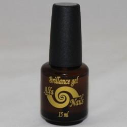 Strat de luciu - Top Gel - Alfa Nails Brillance gel - 15 ml