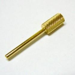 Alfa Nails - Cap carbid/auriu