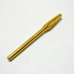Alfa Nails - Cap carbid/auriu - Foarte dur