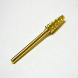 Alfa Nails - Cap carbid/auriu - Dur